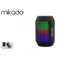 Głośnik Bluetooth Mikado MD-15BT Black microSD Radio FM LED Show