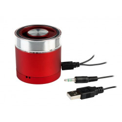Głośnik mobilny bluetooth Natec Phoenix red