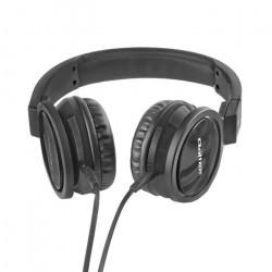 Słuchawki nauszne z mikrofonem Qoltec + kabel do PC