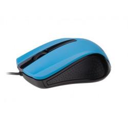 MYSZ GEMBIRD OPTYCZNA 1-SCROLL BLACK/BLUE (USB)(MUS-101-B)