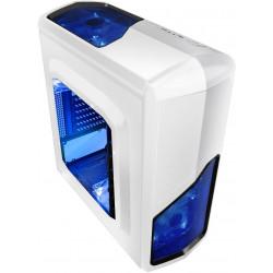 Obudowa Gembird Gaming Midi Tower APHRODITE Biała USB 3.0 + 2.0