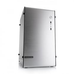 Obudowa komputerowa Modecom ALFA M1 mATX/mITX Mini 2xUSB 3.0 Silver bez zasilacza