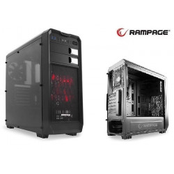 Obudowa Rampage 66 ATX/mATX/mITX 2xUSB 3.0 2xUSB 2.0 Black Gaming
